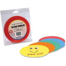 HYX 5052 Hygloss Prod. Color Paper Circles HYX5052