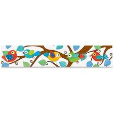 CDP 108149 Carson Boho Birds Design Bulletin Border CDP108149