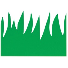 HYX 33601 Hygloss Prod. Green Grass Design Border Strips HYX33601