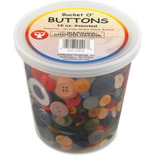 HYX 5516 Hygloss Prod. Bucket 'O Buttons HYX5516