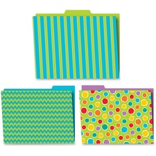 CDP 136004 Carson Fresh Sorbet Design File Folders Set CDP136004
