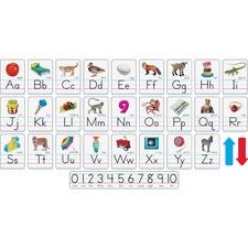 TEP 721 Trend Photo Alphabet Cards Zaner-Bloser Manuscript TEP721