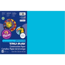 PAC 103401 Pacon Tru-Ray Heavyweight Construction Paper PAC103401