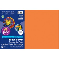 PAC 103405 Pacon Tru-Ray Heavyweight Construction Paper PAC103405