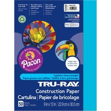 PAC 103400 Pacon Tru-Ray Heavyweight Construction Paper PAC103400