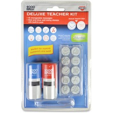 COS 030360 Cosco Message Stamp Deluxe Teacher Kit COS030360