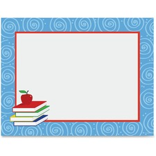 Geographics Swirl Pattern Border Certificate