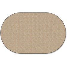 FCI AS35AL Flagship Carpets Classic Solid Color 9' Oval Rug FCIAS35AL