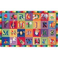 FCIFE11144A - Flagship Carpets ABC Blocks Alphabet Rug