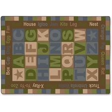FCIFM16732A - Flagship Carpets ABC Tranquility Alphabet Rug