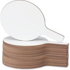 "FLP 24032 Flipside Prod. Round 12"" Dry Erase Answer Paddle FLP24032"