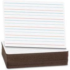 Flipside Ruled/Plain Dry Erase Board Pack