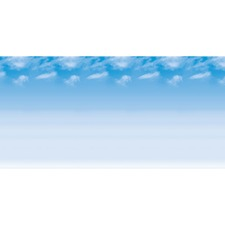 PAC 56935 Pacon Wispy Clouds Design Bulletin Board Papers PAC56935