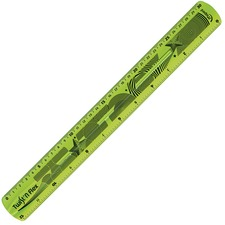"HLX 279010 Helix Twist-n-Flex 12"" Ruler HLX279010"