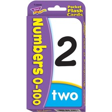 TEP 23040 Trend Numbers 0-100 Flash Cards TEP23040