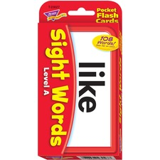 TEP 23027 Trend Sight Words Level A Flash Cards TEP23027