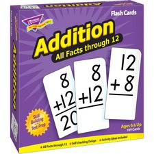 TEP 53201 Trend Addition all facts through 12 Flash Cards TEP53201