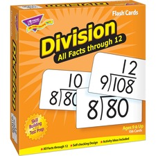 TEP 53204 Trend Division all facts through 12 Flash Cards TEP53204