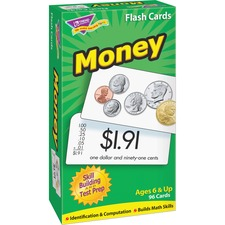 TEP 53016 Trend Money Flash Cards TEP53016