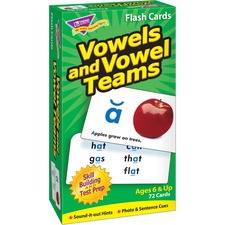 TEP 53008 Trend Vowels and Vowel Teams Flash Cards TEP53008