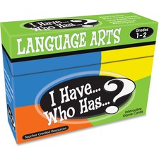 TCR 7815 Teacher Created Res. Gr 1-2 I Have Lang. Arts Game TCR7815