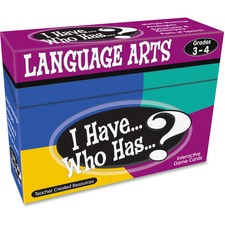 TCR 7816 Teacher Created Res. Gr 3-4 I Have Lang. Arts Game TCR7816