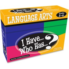 TCR 7832 Teacher Created Res. 5&6 I Have Language Arts Game TCR7832
