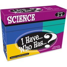 TCR 7857 Teacher Created Res. Gr 3-4 I Have Science Game TCR7857