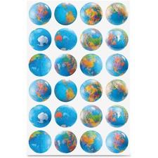 HYX 18751 Hygloss Prod. Globes Stickers HYX18751