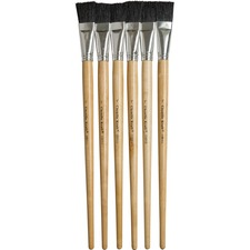 "CKC 5938 Chenille Kraft 1"" Hog Bristle Paint Brushes CKC5938"