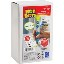 EII 2571 Eductnl Insights Hot Dots Talking Pens Pack EII2571