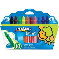 DIX 73010 Dixon Prang be-be Jumbo Crayons DIX73010