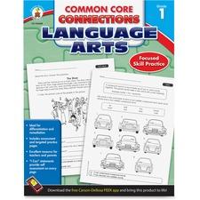 CDP 104608 Carson CCC Grade 1 Language Arts Workbook CDP104608