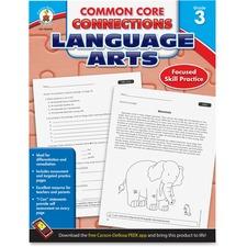 CDP 104610 Carson CCC Grade 3 Language Arts Workbook CDP104610