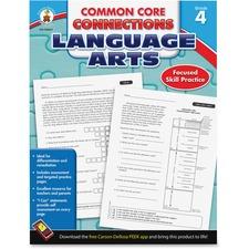 CDP 104611 Carson CCC Grade 4 Language Arts Workbook CDP104611