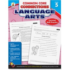 CDP 104612 Carson CCC Grade 5 Language Arts Workbook CDP104612