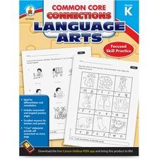 CDP 104607 Carson CCC Grade K Language Arts Workbook CDP104607