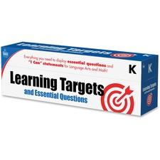 CDP 158057 Carson Grade K Targets/Questns Pocket Chart Cards CDP158057