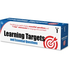 CDP 158058 Carson Grade 1 Targets/Questns Pocket Chart Cards CDP158058