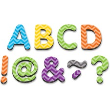 """TCR 77187 Teacher Created Res. Chevron 2"""" Magnetic Letters TCR77187"""