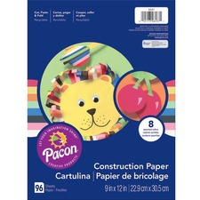 PAC 6537 Pacon Lightweight Construction Paper PAC6537