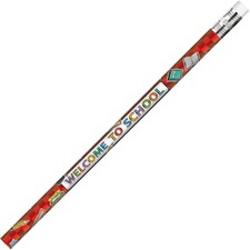 MPD 2118B Rose Moon Inc. Welcome To School Themed Pencils MPD2118B