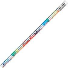 MPD 7500B Rose Moon Inc. Happy Birthday Themed Pencils MPD7500B