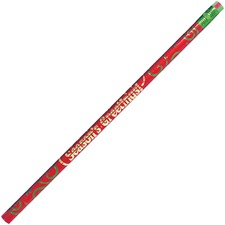 MPD 7922B Rose Moon Inc. Season's Greetings Themed Pencils MPD7922B