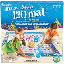 LRN 1772 Learning Res. Make A Splash 120 Mat Floor Game LRN1772