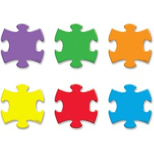 TEP 10805 Trend Mini Puzzle Pieces Accent Varitey Pack TEP10805