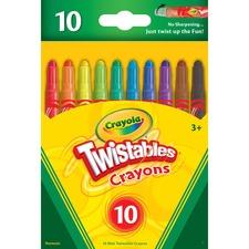 CYO 529715 Crayola Mini Twistables Crayons  CYO529715