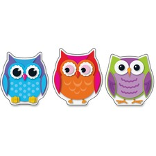 CDP 120107 Carson Colorful Owls Cut-Outs CDP120107