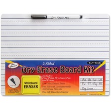 TPG 388 Pencil Grip Grades K-2 Dry Erase Board Kit TPG388