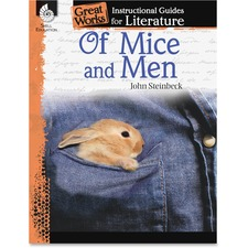 SHL 40300 Shell Education Gr 9-12 Of Mice/Men Instr Guide SHL40300